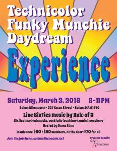 Technicolor Funky Munchie Daydream Experience @ Salem Athenaeum | Salem | Massachusetts | United States