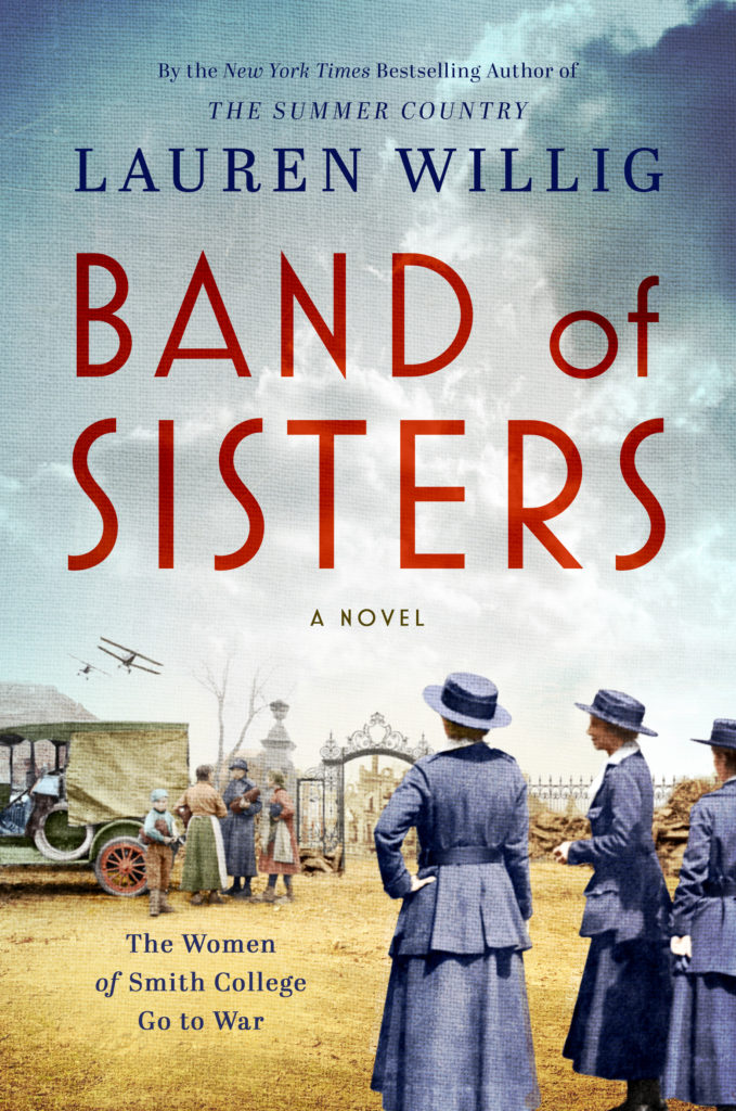 Lauren Willig: Band of Sisters @ Salem Athenaeum—Online